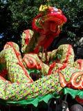 κινεζικό νέο έτος δράκων Στοκ εικόνα με δικαίωμα ελεύθερης χρήσης