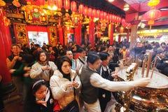 Κινεζικό νέο έτος Στοκ Φωτογραφίες