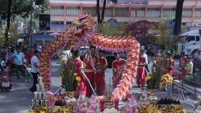 κινεζικό νέο έτος απόθεμα βίντεο