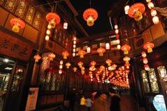 2014 κινεζικό νέο φεστιβάλ εκθέσεων και φαναριών ναών έτους Στοκ Φωτογραφίες