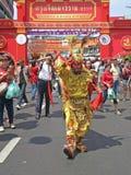 Κινεζικό νέο φεστιβάλ 2016, Μπανγκόκ, Ταϊλάνδη έτους Στοκ εικόνα με δικαίωμα ελεύθερης χρήσης