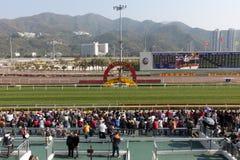 κινεζικό νέο raceday έτος στοκ φωτογραφία