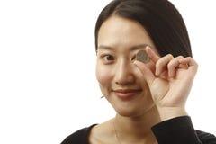 Κινεζικό νόμισμα Στοκ φωτογραφίες με δικαίωμα ελεύθερης χρήσης