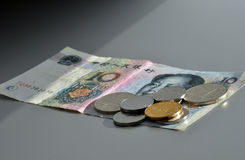 κινεζικό νόμισμα Στοκ Φωτογραφίες
