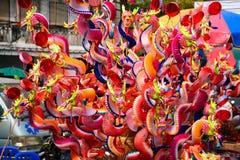 Κινεζικό παιχνίδι δράκων Στοκ Φωτογραφίες