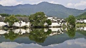 κινεζικό παλαιό χωριό Στοκ Φωτογραφία