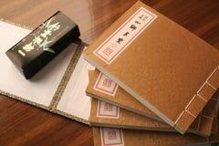 κινεζικό παλαιό ύφος βιβ&lambda Στοκ Φωτογραφίες