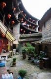Κινεζικό παραδοσιακό εγχώριο προαύλιο Στοκ εικόνες με δικαίωμα ελεύθερης χρήσης