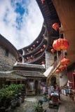 Κινεζικό παραδοσιακό εγχώριο προαύλιο Στοκ Φωτογραφίες