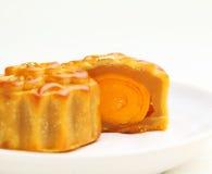 Κινεζικό παραδοσιακό κέικ φεγγαριών Στοκ φωτογραφία με δικαίωμα ελεύθερης χρήσης