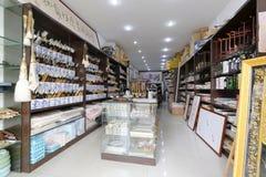 Κινεζικό παραδοσιακό κατάστημα χαρτικών Στοκ Εικόνα