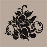 Κινεζικό παραδοσιακό καφετί σχέδιο Στοκ Φωτογραφίες