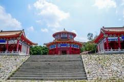 Κινεζικό παραδοσιακό σπίτι πλινθωμάτων Στοκ Εικόνες