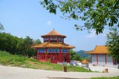 Κινεζικό παραδοσιακό σπίτι πλινθωμάτων Στοκ φωτογραφία με δικαίωμα ελεύθερης χρήσης