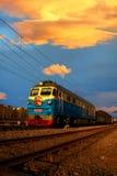 Κινεζικό παραδοσιακό τραίνο Στοκ εικόνα με δικαίωμα ελεύθερης χρήσης