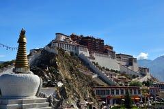 Κινεζικό παλάτι Potala στοκ φωτογραφία