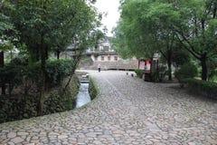Κινεζικό παλαιό χωριό Στοκ Φωτογραφίες
