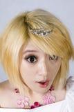 κινεζικό περίεργο κορίτ&sigma στοκ εικόνα