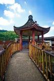 Κινεζικό περίπτερο στο ναό Si Kek Lok Στοκ Εικόνες