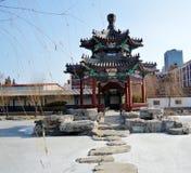 Κινεζικό περίπτερο στο πάρκο Στοκ Εικόνα