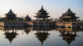 κινεζικό περίπτερο Στοκ φωτογραφία με δικαίωμα ελεύθερης χρήσης