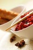 κινεζικό πιάτο Στοκ Φωτογραφία