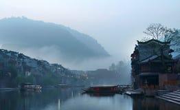 κινεζικό πρωί Στοκ φωτογραφία με δικαίωμα ελεύθερης χρήσης