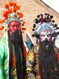 κινεζικό πρόσωπο δράματος που χρωματίζεται Στοκ Εικόνα