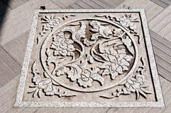 κινεζικό πρότυπο τέχνης Στοκ εικόνα με δικαίωμα ελεύθερης χρήσης