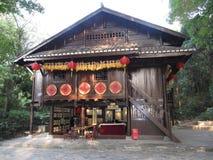 κινεζικό σπίτι παραδοσια Στοκ Φωτογραφίες