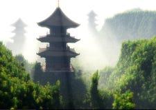κινεζικό σπίτι Στοκ Εικόνες