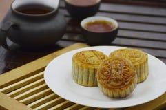 Κινεζικό στοιχείο κέικ φεγγαριών Στοκ Φωτογραφία