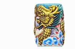 κινεζικό σύμβολο δράκων Στοκ Εικόνα