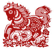 κινεζικό τέμνον απομονωμέν&o Στοκ Εικόνα