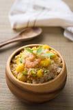 Κινεζικό τηγανισμένο ρύζι, ή δημοφιλές cusine nasi goreng στην Ασία Στοκ Εικόνες
