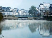 κινεζικό τοπίο επαρχίας Στοκ φωτογραφία με δικαίωμα ελεύθερης χρήσης