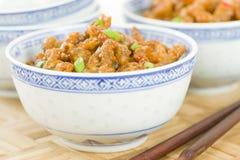 Κινεζικό τριζάτο βόειο κρέας Στοκ φωτογραφίες με δικαίωμα ελεύθερης χρήσης