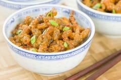 Κινεζικό τριζάτο βόειο κρέας Στοκ Φωτογραφίες