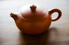 κινεζικό τσάι δοχείων Στοκ Φωτογραφία