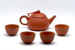 κινεζικό τσάι δοχείων Στοκ εικόνες με δικαίωμα ελεύθερης χρήσης