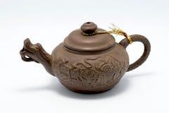κινεζικό τσάι δοχείων Στοκ Εικόνες