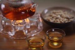 κινεζικό τσάι καλλιέργε&iota Στοκ Εικόνα