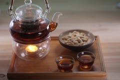 κινεζικό τσάι καλλιέργε&iota Στοκ εικόνες με δικαίωμα ελεύθερης χρήσης
