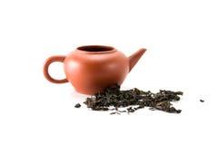 κινεζικό τσάι δοχείων Στοκ φωτογραφία με δικαίωμα ελεύθερης χρήσης