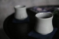 κινεζικό τσάι φλυτζανιών Στοκ εικόνα με δικαίωμα ελεύθερης χρήσης