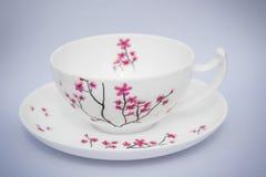 κινεζικό τσάι φλυτζανιών Στοκ Φωτογραφία