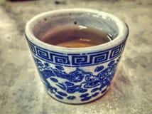 κινεζικό τσάι φλυτζανιών Στοκ φωτογραφία με δικαίωμα ελεύθερης χρήσης