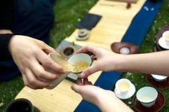 Κινεζικό τσάι Kung Fu Στοκ εικόνες με δικαίωμα ελεύθερης χρήσης