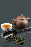 κινεζικό τσάι kungfu Στοκ Φωτογραφία