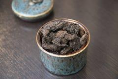 Κινεζικό τσάι puer Στοκ εικόνες με δικαίωμα ελεύθερης χρήσης